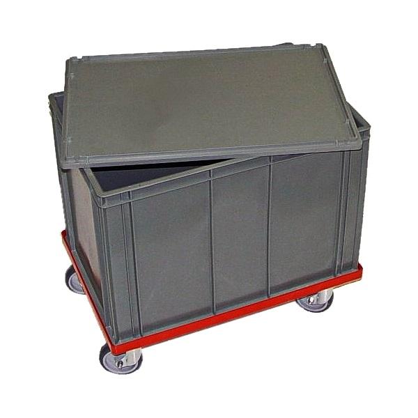 Forskellige Opbevaringskasse til ler m/hjul HX08