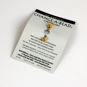 """Change-a-Bead forgyldt 3/4"""", 19mm"""